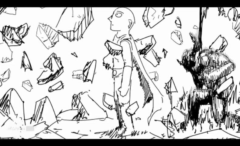 動画】ワンパンマン 142 サイタマVSガロウ 原作ONE漫画村田